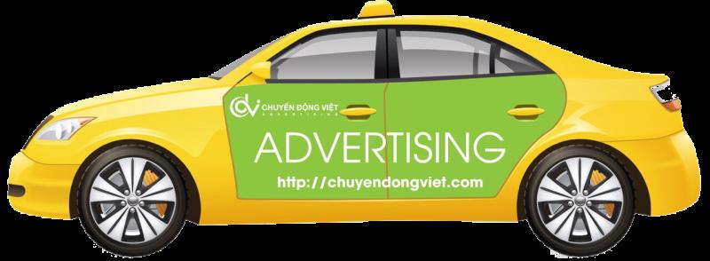 Đơn vị quảng cáo xe taxi