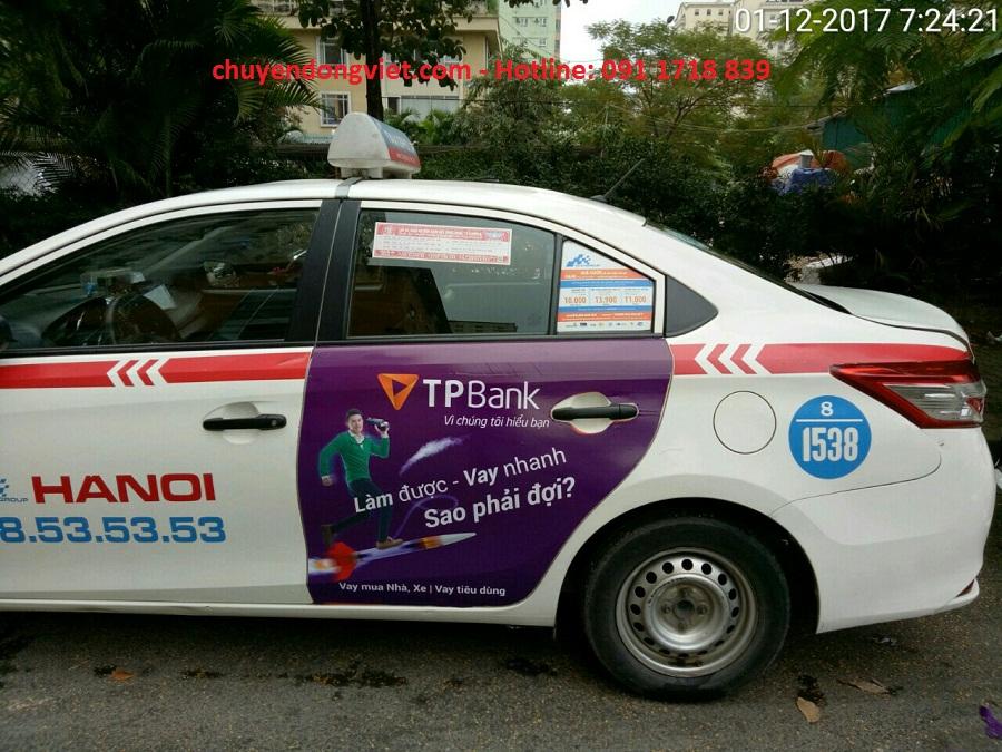 quảng cáo taxi Group Hà Nội