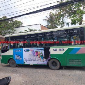 Quảng cáo xe bus Miền Tây