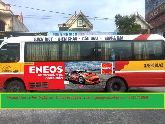 Quảng cáo xe bus Nghệ An