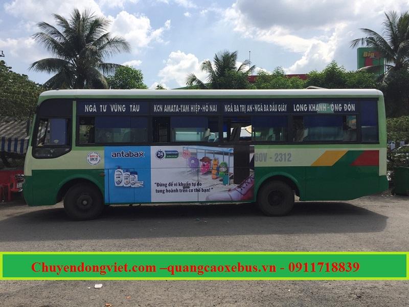 Quảng cáo xe bus các tỉnh phía Nam