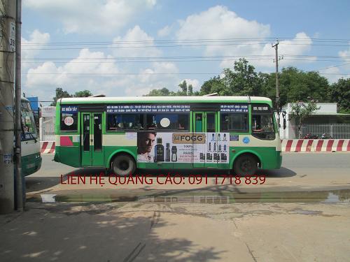 quang cao xe bus Binh Duong