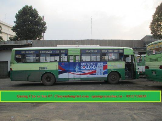 Xe bus số 7 Bình Dương - Suoi Tien