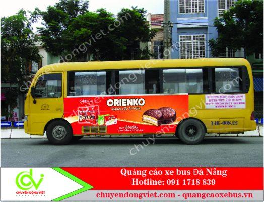 Quảng cáo trên xe buýt tại Đà Nẵng