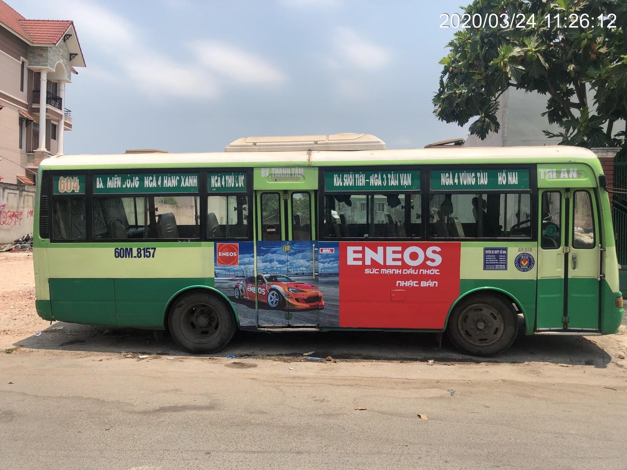 Xe bus 604 Đồng Nai