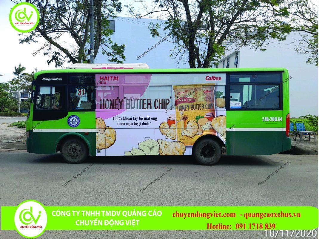 Quảng cáo trên xe buýt Hồ Chí Minh