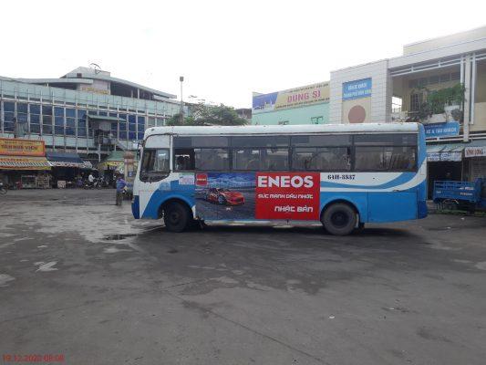 Quảng cáo trên xe bus Vĩnh Long Tích Thiện