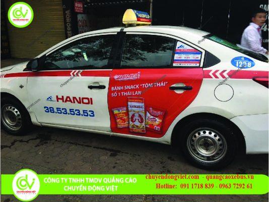 Hình ảnh khách hàng quảng cáo taxi Group Hà Nội